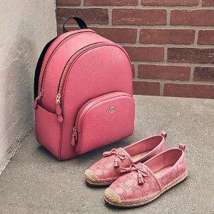 低至3折+额外8.5折 卡包$19限今天:Coach Outlet 春日粉色系专场 小马车腰带$32