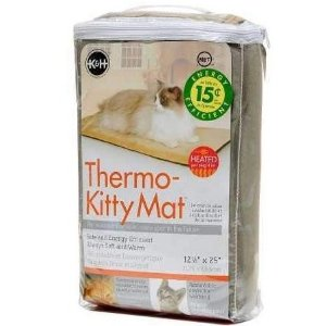 K&H Pet Products Thermo-Kitty Mat Heated Pet Bed