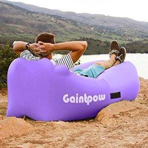 现价£22.95(原价£29.99)Gaintpow 充气休闲沙发椅 三色可选