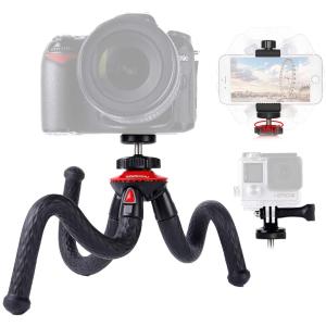 折后€15.98 爪爪灵活又稳固Lammcou 八爪鱼三脚架 相机手机都能用 稳定性好 轻便好收纳