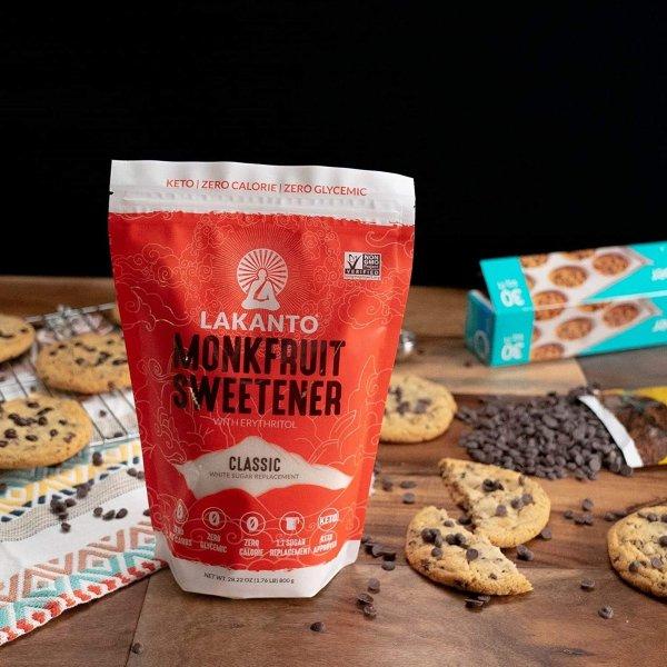 Lakanto 非转基因0卡路里甜味剂 甜度和普通糖一样