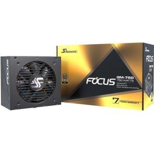$87.99 + $30 RebateSeasonic FOCUS GM-750 750W 80+金牌 半模组电源