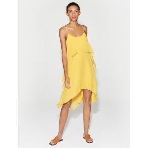 HalstonLayered Flounce Dress