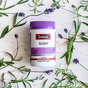 $13.99(原价$43.99)折扣升级:Swisse 天然草药睡眠片100片 快速帮助睡眠
