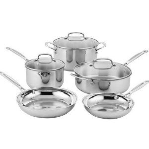 $69.99Cuisinart Classic Stainless Cookware Set @ Woot!