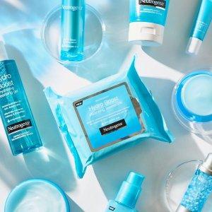 变相6.7折 €3.96收卸妆巾Neutrogena 露得清 买3免1 高效保湿系列 高性价比夏日补水好物