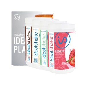 Idealshape4 Meal Replacement Shake Tubs + Ebooks