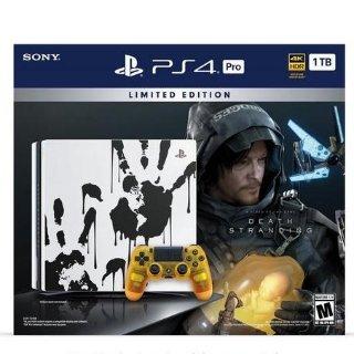 $399 预售开启PS4 Pro 1TB 《死亡搁浅》主题套装, 含婴儿舱配色手柄