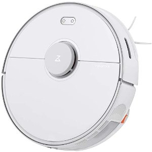 RoborockS5 MAX Robot Vacuum and Mop, Self-Charging Robotic Vacuum Cleaner, Lidar Navigation, Selective Room Cleaning, No-mop Zones, 2000Pa Powerful Suction, 180min Runtime, Works with Alexa(White)