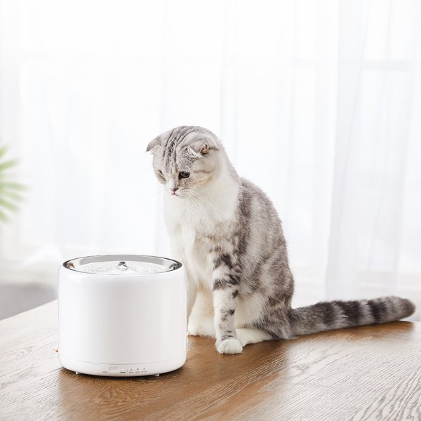 PETKIT宠物饮水机猫咪狗狗循环喝水器不锈钢款 【美国包邮】