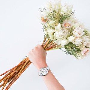 低至3.3折+包邮Anne Klein 时装腕表热卖,珍珠母贝水晶$30