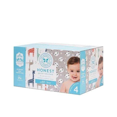 婴儿纸尿裤4号120片,长颈鹿图案