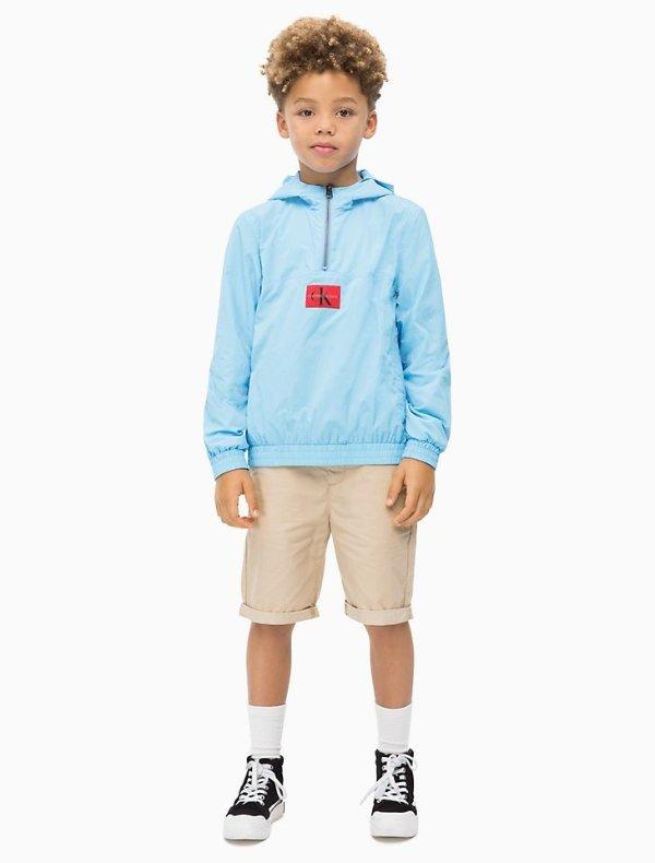 男童外套+腰包套装