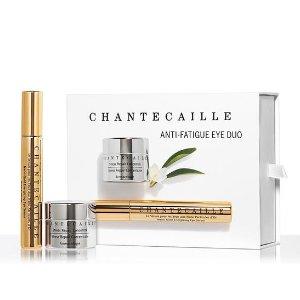 Chantecaille价值$390眼部护肤套装 - 钻石眼霜 + 纳米级黄金眼精华