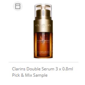 Clarins双萃精华 3 x 0.8ml
