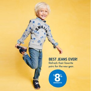 $8 and Up, was $30-$34Oshkosh Bgosh Best Jeans Doorbuster Sale