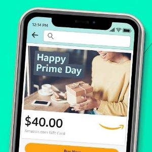 免费送$10Amazon买$40礼卡大优惠,仅限Prime 会员