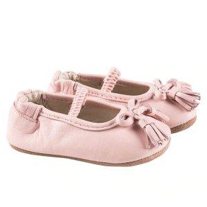 Robeez 粉色学步鞋