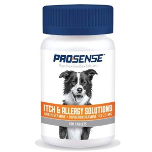 Pro-Sense Itch & Allergy Solutions for Pets, 100-Count