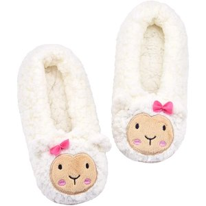 $19.99收封面款绵羊拖鞋Panda Bros 冬季必备 可爱动物毛茸茸拖鞋  多款可选