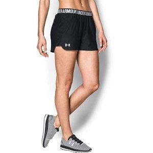 $18.99(原价$24.99)Under Armour Play Up 女款运动短裤