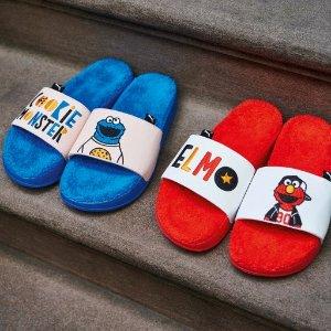 独家8折!£32收大童款运动鞋SesameStreetXPuma 芝麻街联名款童趣上新