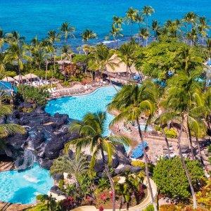 套房5折起, 标间7折起, 免费取消夏威夷希尔顿酒店/海滨度假村 住宿大促  2022年4月前入住