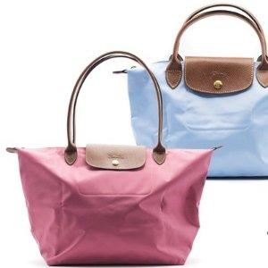 饺子包$53起+免邮,多色手慢无:NM精选Longchamp, Prada, Tory Burch等女士手袋热卖