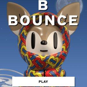 BGM想走秀 快试玩评论留分数BURBERRY  跨界线上小游戏  《弹跳小鹿》萌萌跳起来