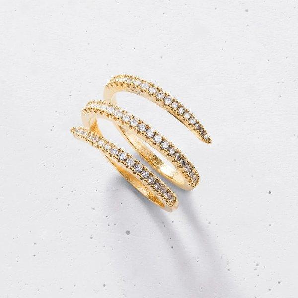 三层环戒指