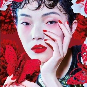 Ruby Woo上新补货MAC 中国红系列新年限量上新 收丝绒泰迪