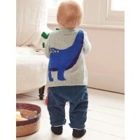 Boden 婴幼儿恐龙针织开衫