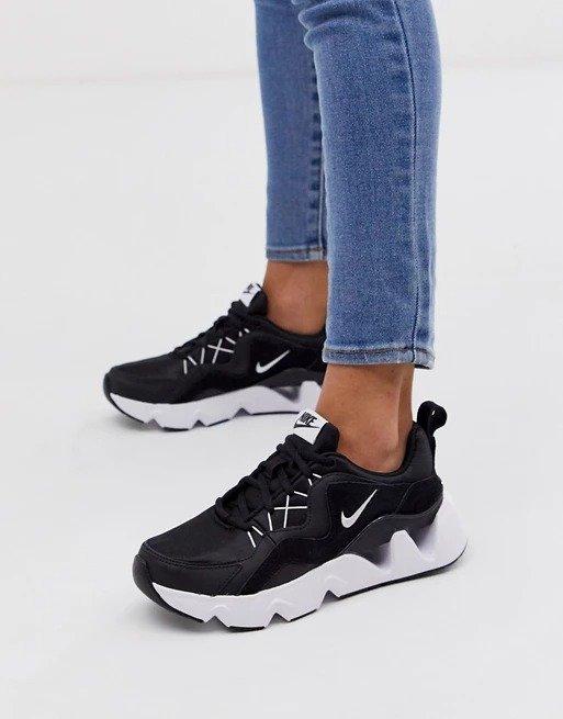 black Ryz黑色运动鞋