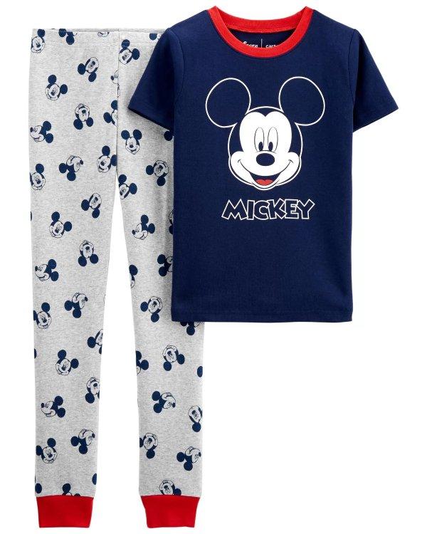 儿童 米奇 全棉睡衣套装