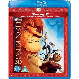 Disney狮子王动画版 3D蓝光DVD