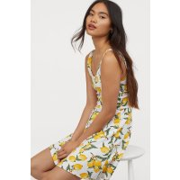 H&M 柠檬连衣裙