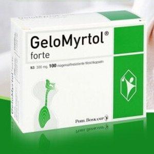 仅€18.99收60片(原价€28.98)GeloMyrtol 吉诺通胶囊 缓解支气管炎 止咳化痰 呼吸问题全搞定
