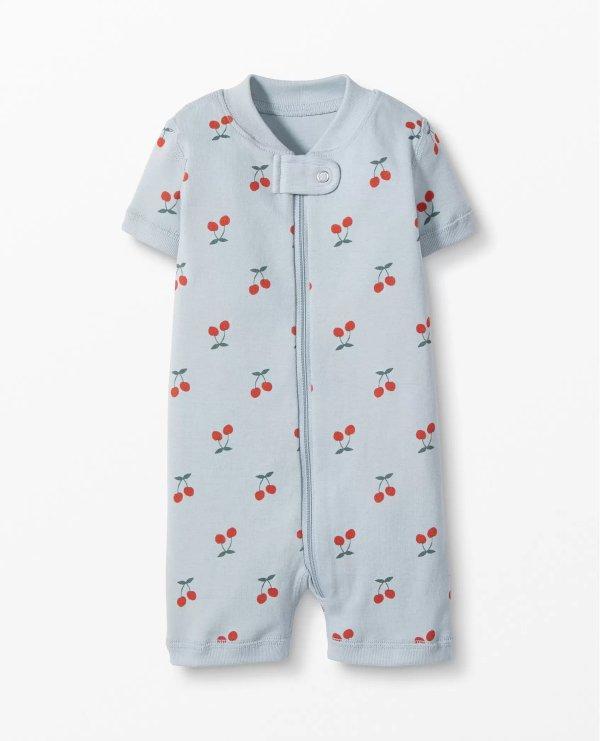 婴儿有机棉包臀衫