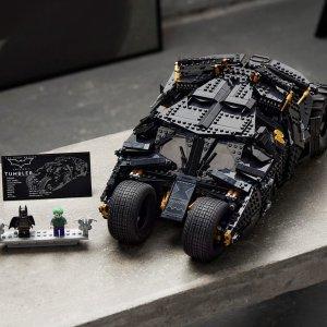 Lego接受预定,11月1日上市蝙蝠车76240   DC