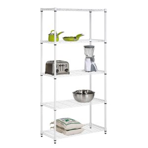 Honey-Can-Do 5-Tier Adjustable Shelving System