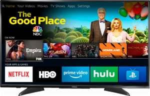 "Toshiba 43"" Smart 4K UHD TV with HDR Fire TV Edition"