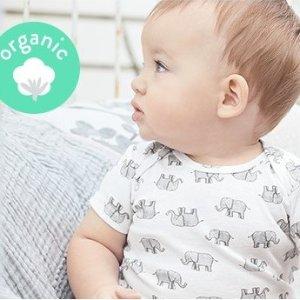 低至4折+双倍积分 新品降价Carter's童装官网 有机棉服饰热卖,认证这朵小棉花