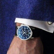 $4095 ( Orig $10,700 )Zenith Men's Captain Winsor Annual Calendar Watch Model: 03-2070-4054-22-C708