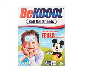 Amazon.com: BeKoool Soft Cooling Gel Sheets for Kids, 4 Count: Health & Personal Care