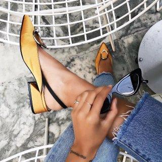 额外享8.5折  经典款$204即将截止:Yuul Yie 复古露跟鞋促销 新款上市