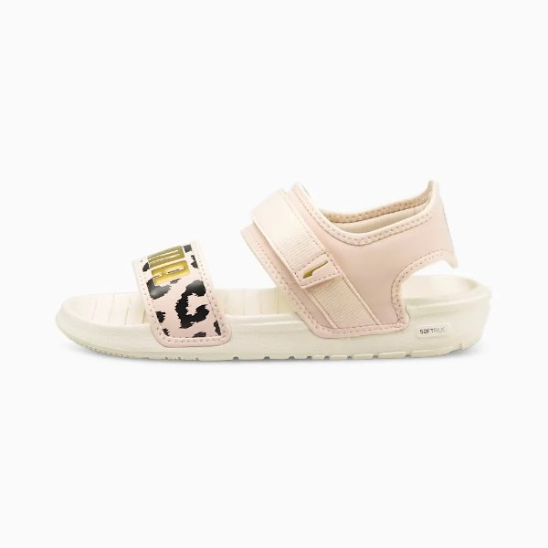 SoftRide Leopard 女士凉鞋