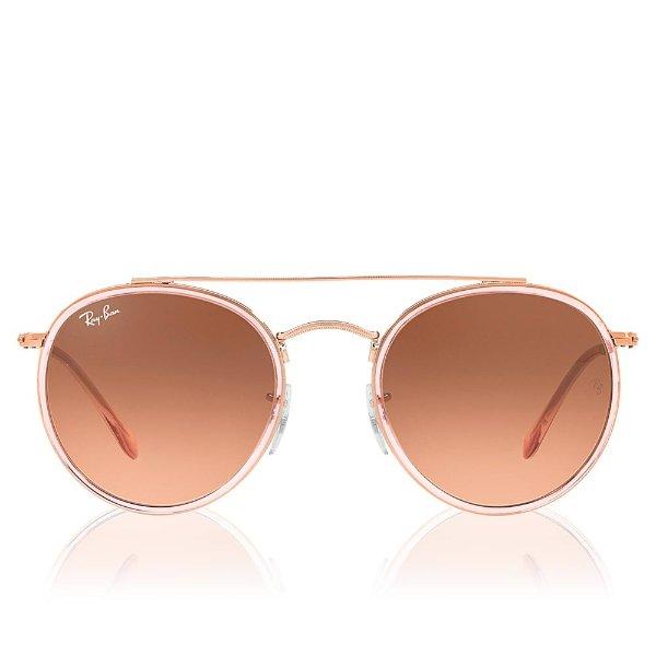 棕粉色墨镜
