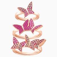 Swarovski 蝴蝶戒指套装