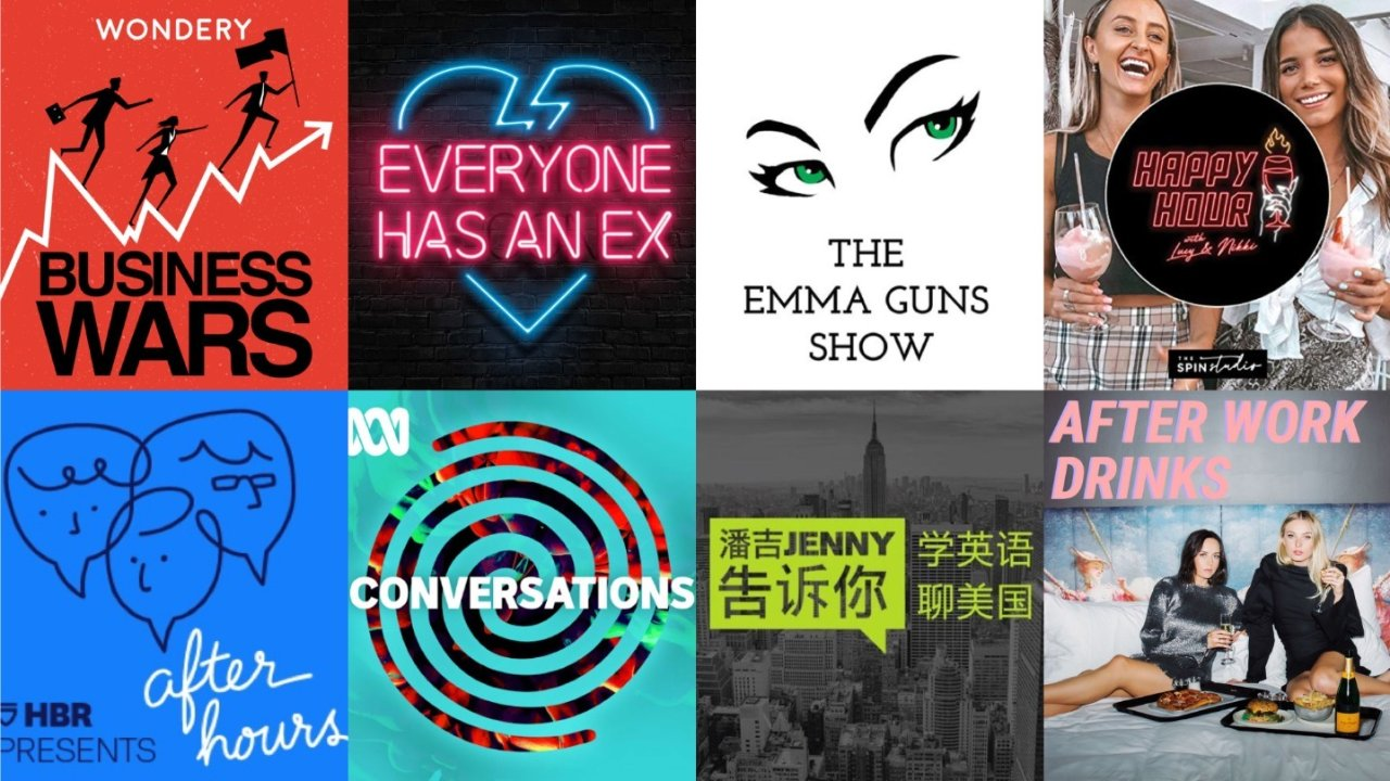 Podcast不能错过的地道澳洲播主 📻学习日常&专业英语对话 泛听精听不用愁