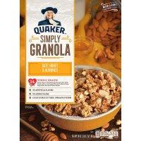 QUAKER 即食早餐麦片 蜂蜜+杏仁片口味 2盒装
